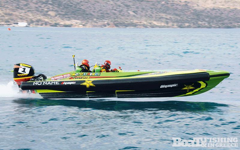 Λουλουργάς - Κενενούνης µε σκάφος Olympic 820R