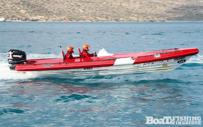 Μποτζολάκης - Χαραλαµπάκης µε σκάφος Olympic 820R