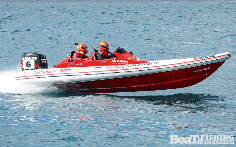 Στέργος - Σιφωνιός µε σκάφος Sea Quest 760R
