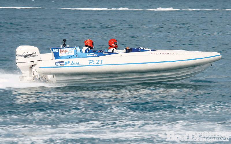 Κτιστάκης - ∆ιακοφιλιππής µε σκάφος Top Line R21