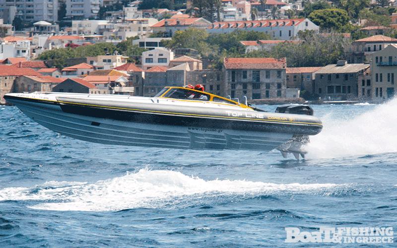 Γραµµατικάκης - Φιλίππου µε σκάφος Top Line Corsair 31