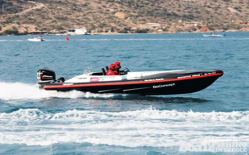 Σέρρας - ∆ρόσος µε σκάφος Olympic 820R BO CONCEPT