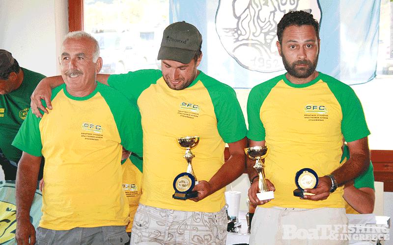 Την 3η θέση κατέλαβαν οι αθλητές Τζούρας- Τσιότσιας του ΑΣΕΑ ΠΤΟΛΕΜΑΪ∆ΑΣ