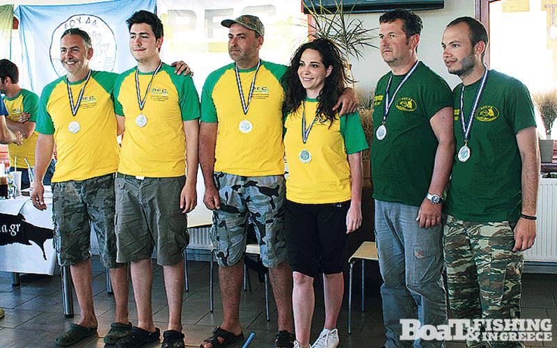 Οι νικητές του αγώνα: 3η θέση οι Αθλητές του ΑΣΕΑ Πτολεµαϊδας Οτουντζίδης- Πανίδης, 1η θέση οι Αθλητές του ΑΣΕΑ Πτολεµαϊδας Άψης- ∆ελιοπούλου και 2η θέση οι Αθλητές του ΑΣΕΑ Καρδίτσας Τσεκούρας- Χρήστου
