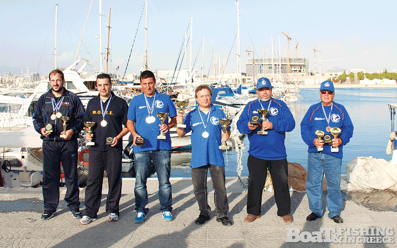 Εθνική Ελλάδος αλιείας από σκάφος: τα µέλη που θα εκπροσωπήσουν την χώρα µας στις διεθνείς διοργανώσεις το 2015