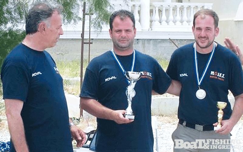 3η θέση ο Σύλλογος ΝΟΙΕΣ Πόρτο Ράφτη, µε τους αθλητές Κανδρή Αντώνη και Παπαδόπουλο Αντώνη