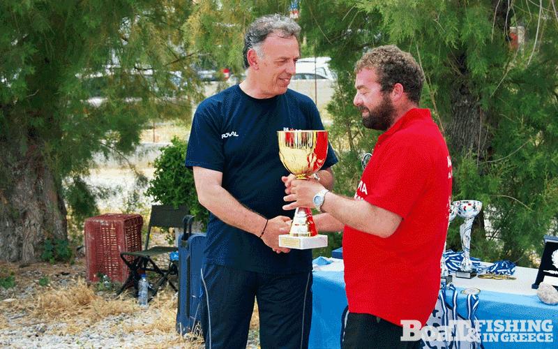 Αντώνης Παπιδάκης, πρωταθλητής Ελλάδας 2014