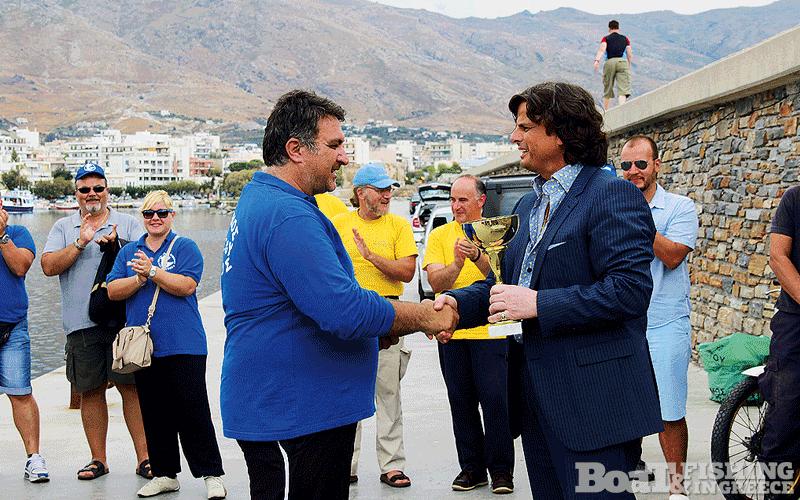 Τάσος Περιβολάρης, πρωταθλητής Ελλάδας