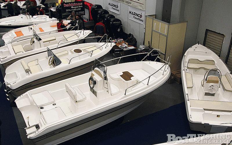 Η εταιρία Marinco αποτελεί µία από τις µεγαλύτερες Ελληνικές εταιρίες, µε κάθετη παραγωγή πολυεστερικών αλλά και εισαγωγές διεθνούς φήµης σκαφών αναψυχής.  Στην Boat & Fishing παρουσίασε πολυεστερικά σκάφη ως τα 5,5 µέτρα (φωτ. 3), αλλά και κινητήρες της εταιρίας MERCURY - MARINER.