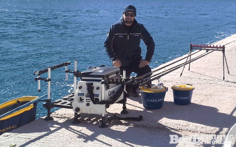 Μαργαρώνης ∆ηµήτριος, νικητής του 2ου καρλοβασίτικου τουρνουά αλιείας µε φελλό