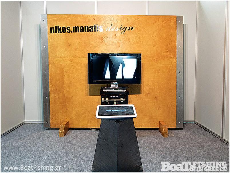 Nikos.Manafis Design: Συνδυάζοντας τέχνη και επιστήµη, η εταιρεία Manafis Design σχεδιάζει σκάφη για λογαριασµό κατασκευαστών αλλά και custom design για ιδιώτες που ψάχνουν κάτι το ξεχωριστό