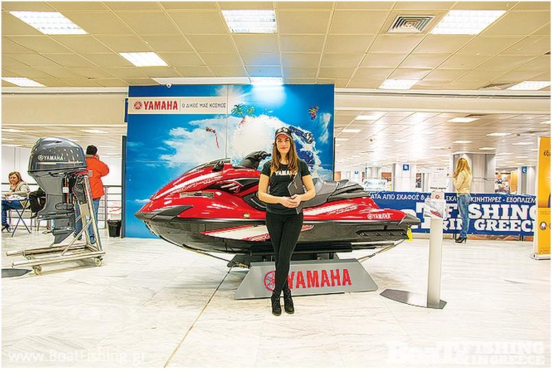 ΜΟΤΟ∆ΥΝΑΜΙΚΗ: Στο placement της Yamaha παρουσιάστηκε τον νέο jetski FZR SVHO µε την εκπληκτική ισχύ και το µικρό βάρος