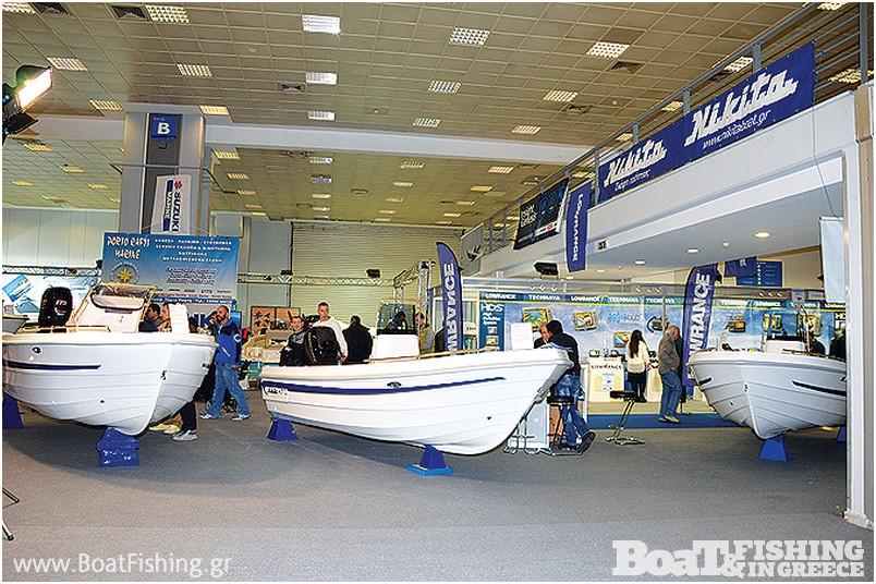 NIKITA: Τα σκάφη Nikita, ξεχωρίζουν για τη στιβαρή κατασκευή, παρουσιάστηκαν ταχύπλοες βάρκες τόσο µε εξωλέµβια όσο και µε diesel κινητήρες