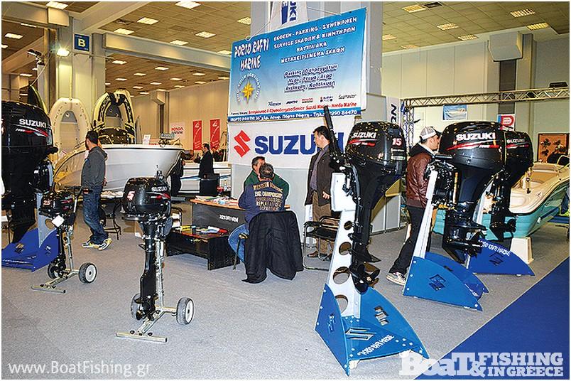 PORTO RAFTI MARINE: Η εταιρεία του Γιάννη Σιδέρη παρουσίασε κινητήρες Suzuki αλλά όλες τις υπηρεσίες που προσφέρει στον χώρο της στο Πόρτο Ράφτη