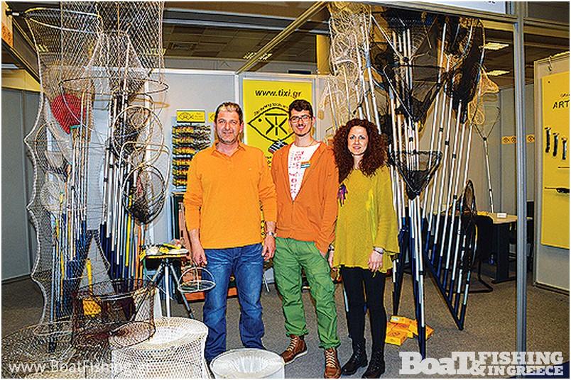 TIXI-ΑΛΕΞΑΝ∆ΡΟΣ ΤΣΙΡΩΝΗΣ: Η εταιρεία TIXI, µε µεγάλη ποικιλία εξοπλισµού Ελληνικής κατασκευής, όπως πρωτότυπες απόχες, καµάκια, παραδοσιακές ζόκες, αλλά και µοντέρνα ζοκάκια µε χάντρες Swarovski, λάστιχα, βέργες, ψαροτούφεκα
