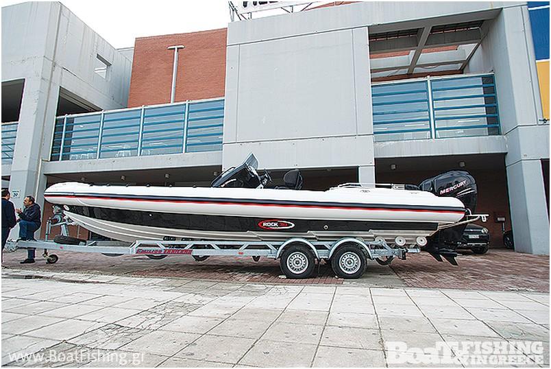 Bell Marine: Το νέο Rock 30 του κατασκευαστή Πέτρου Πολλάτου εντυπωσίασε τους επισκέπτες της έκθεσης Boat & Fishing Show