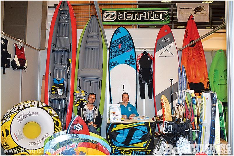 INTERCOAST: Κανό, ιστιοσανίδες αλλά και θαλάσσια παιχνίδια, όλος ο εξοπλισµός των watersports σε ανταγωνιστικές τιµές