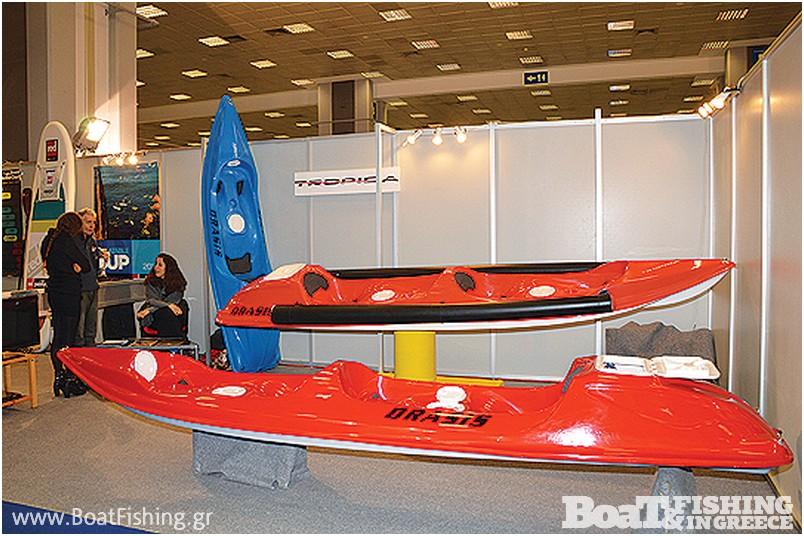 TROPIDA: Ένα πρωτότυπο κανό - καγιάκ για ανοικτή θάλασσα παρουσιάζεται για πρώτη φορά από τον κατασκευαστή Τάκη Σαµαρτζή