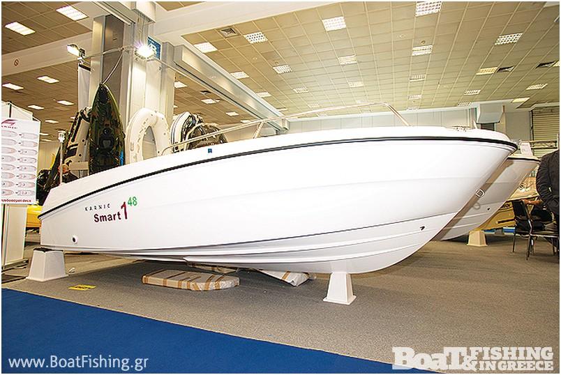 KARNIC: Η κυπριακή εταιρεία παρουσίασε τη νέα σειρά πολυεστερικών σκαφών Smart1 όπου διαµορφώνονται ανάλογα µε τις ανάγκες του ιδιοκτήτη