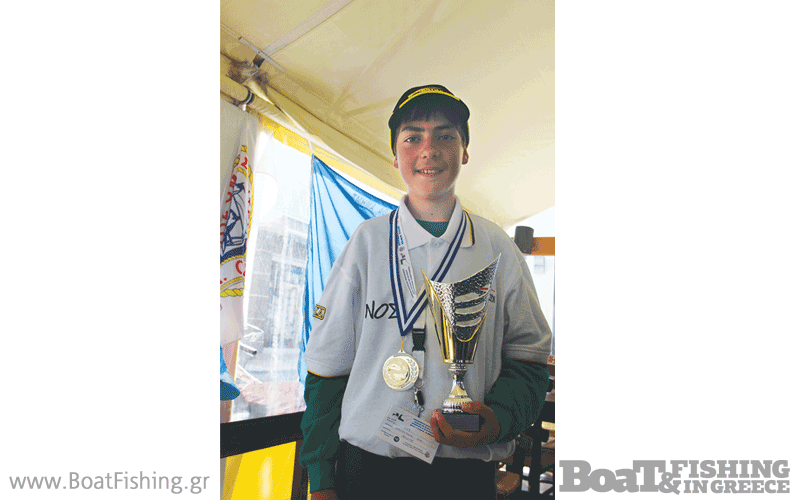 O μικρός Μανώλης Μαζωνάκης κατάφερε2η θέση στη δεύτερη αγωνιστική του πρωταθλήματος.
