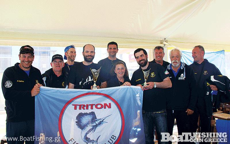 Η ομάδα του Τρίτωνα.